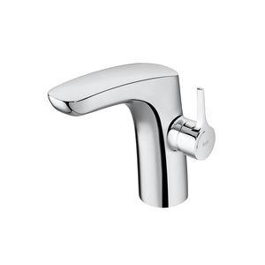 Einhebelmischer für Waschtisch / für Theken / verchromtes Metall / für Badezimmer
