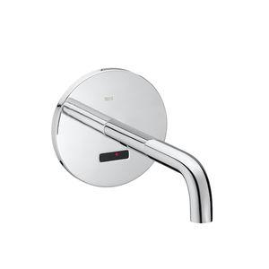 Einhebelmischer für Waschtisch / Einbau / verchromtes Metall / elektronisch