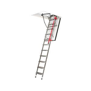 versenkbarer Leiter / teleskopisch / Metall