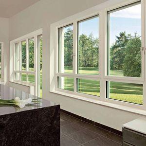 Dreh-Kippfenster / Aluminium / PVC / 3-Fach-Verglasung