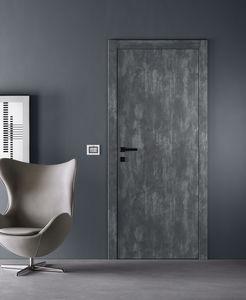 Tür für Innenbereich / einflügelig / aus MDF / Brandschutz
