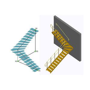 Projektplanungssoftware / zur Modellierung / für Stahlkonstruktion / für Treppen