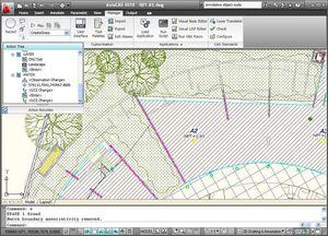 Projektplanungssoftware / Architektur / unter Autocad / 3D