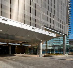 Metallgewebe für Fassadenverkleidung / für Fassaden / für Sonnenschutz / Metall