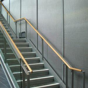 Metall-Wandverkleidung / für öffentliche Bereiche / strukturiert / Metalloptik