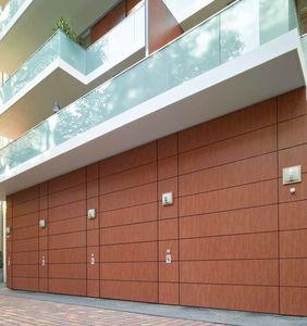 sektionale Industrietore / Aluminium / Holz / PVC