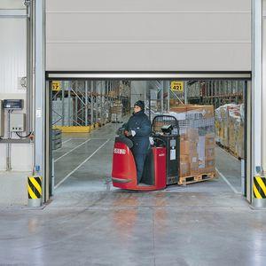 Roll-Industrietore / Stoff / Polyurethan / automatisch