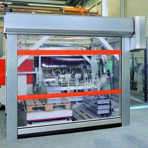 Roll-Industrietore / Stahl / Stoff / automatisch