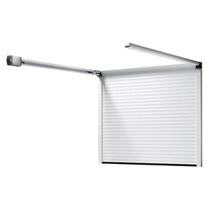 sektionale Garagentüren / Roll / Aluminium / Polyurethanschaum