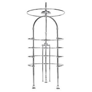 Multifunktionsdusche / Metall / kreisförmig / Objektmöbel