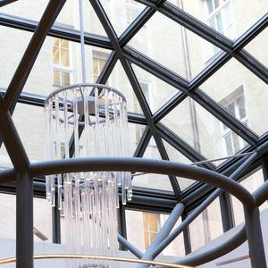 Vorhangfassade / freitragende Struktur