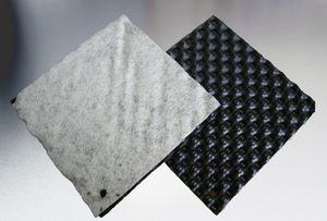Geomembran / Polyethylen HDPE / für Wand