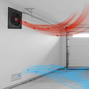 Ventilator für Abzug / wandmontiert / für Deckenmontage / für Bedachungen