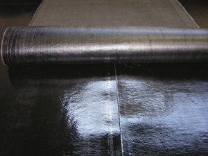 Elastomerdampfsperre / Bitumen / Glasfaser