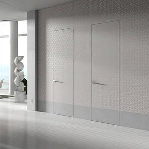 Tür für Innenbereich / einflügelig / Holz / bündig