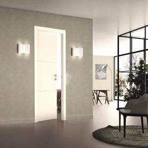 Tür für Innenbereich / einflügelig / Massivholz / aus MDF