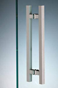 Glastüren-Griff / Metall / modern / für Privatgebrauch