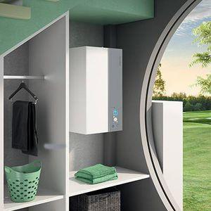 Luft/Wasser-Wärmepumpe / Wohnbereich / Außenbereich / Inverter