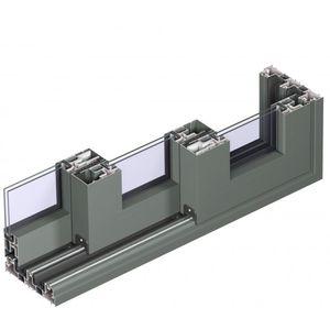 Aluminium-Schiebesystem