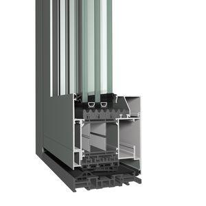 Aluminium-Türprofil / mit Wärmedämmung / wasserdicht / Akustik