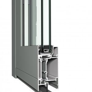 Aluminium-Türprofil / wärmeisoliert / Akustik / einbruchsicher