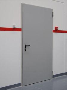 einflügelige Industrietore / verzinkter Stahl / Brandschutz / automatisch