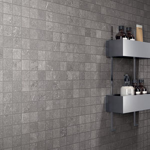 Innenraum-Mosaikfliese / Wand / Feinsteinzeug / quadratisch