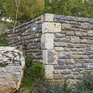 Steinblock für Wände