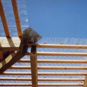 Well-Polycarbonatplatte / für Dächer / für Fassaden / für Gewächshäuser