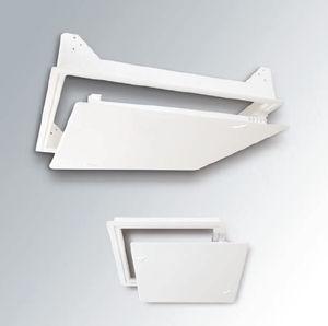 Revisionsklappe für Wand / für abgehängte Decken / quadratisch / Metall