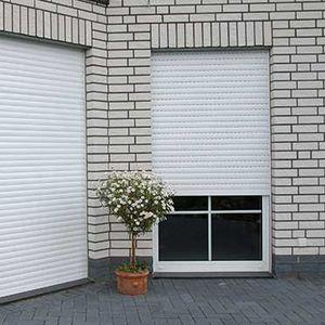 Rolladen / Aluminium / Tür / für Fassaden