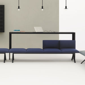 moderner Konsolentisch / Holz / rechteckig / quadratisch
