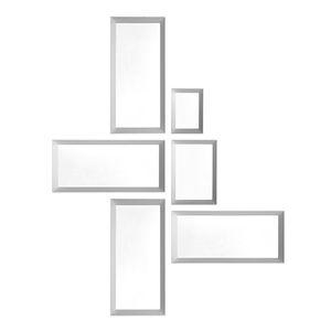 wandmontierter Spiegel / modern / rechteckig / Massivholz