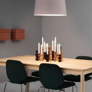 Holz-Kerzenhalter