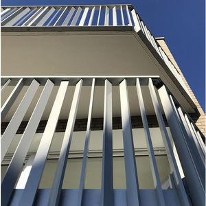 Aluminium-Geländer / Stangen / Außenbereich / für Balkon
