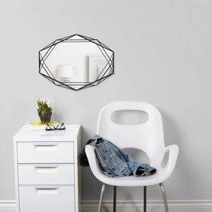 wandmontierter Spiegel / Schlafzimmer / hängend / modern