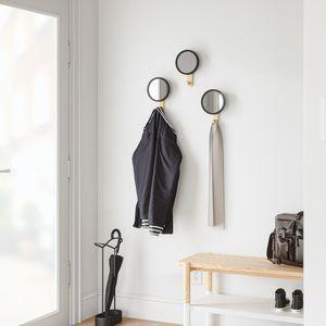 moderner Garderobenhaken / Holz / Einpersonen / Badezimmer