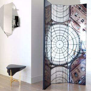 moderner Paravent / aus MDF / mit Spiegel