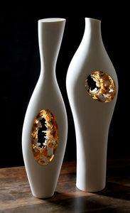Vase / originelles Design / Porzellan / handgefertigt
