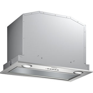 Einbaudunstabzug / mit integrierter Beleuchtung / geräuscharm