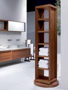 modernes Regal / aus Esche / für Badezimmer
