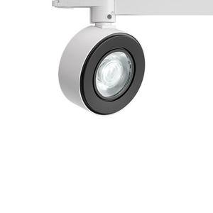 LED-Schienenleuchte / rund / quadratisch / Aluminiumguss