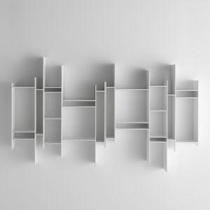 Modul-Bibliothek / wandmontiert / modern / Objektmöbel
