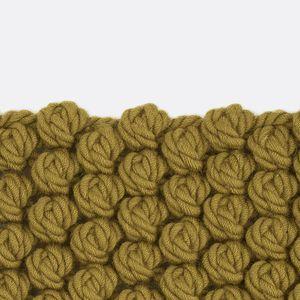 moderner Teppich / uni / Neuseeland Wolle / rechteckig