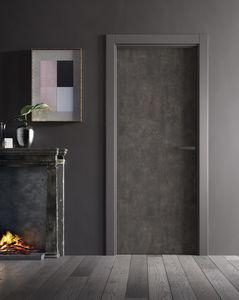 Tür für Innenbereich / einflügelig / ABS / Laminat