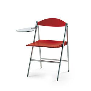 moderner Stuhl / Polster / Klapp / mit Schreibplatte