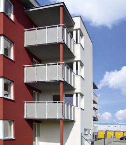 Platten-Balkon