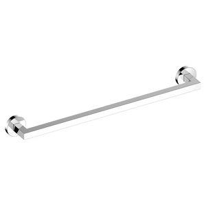 Handtuchhalter / 1 Stange / wandmontiert / verchromtes Metall / für Hotels