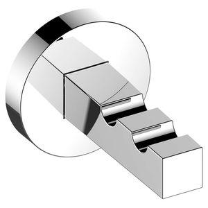 moderner Garderobenhaken / Metall / doppelt / Badezimmer
