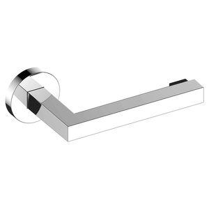 wandmontierter Toilettenpapierhalter / verchromtes Metall / für Hotels / für Krankenhäuser